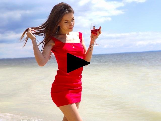 Youg girl liked travel